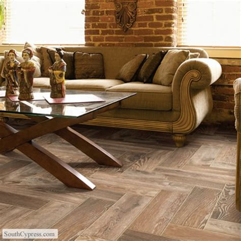 South Cypress Floor Tile by Hardwood V Lookalike Tile Centsational