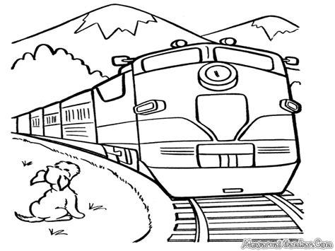 Coloring Kereta Api by Gambar Gambar Mewarnai Kereta Chuggington Gambartop