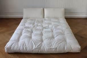 canapé japonais matelas canape futon