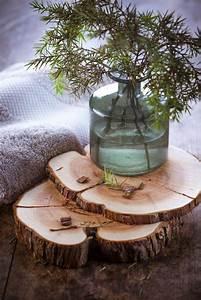 Idee Deco Avec Des Photos : que faire avec un rondin de bois id es en photos ~ Zukunftsfamilie.com Idées de Décoration