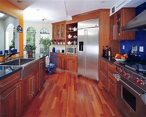 34, Kitchens, With, Dark, Wood, Floors, Pictures