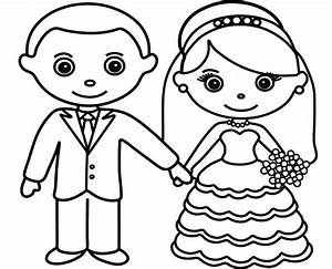 Bride And Groom Coloring Pages Download Latest Free