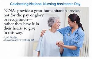 annies home: Nu... Nursing Assistant Week Quotes