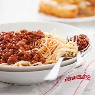 cuisine à la mijoteuse spaghettis sauce bolognaise della mamma à la mijoteuse