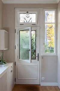 Tringle Porte D Entrée : porte d 39 entr e bois zilten valen ay vue int rieure avec ~ Premium-room.com Idées de Décoration
