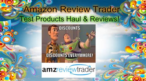 Amazon Review Trader's Test Products Haul & Reviews!  Youtube