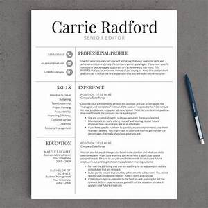 professional resume template for word pages With great looking resumes