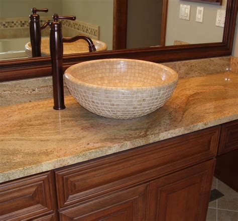 Bathroom Sinks Vessel Bowls by Mosaic Tile Vessel Bowl Modern Bathroom Sinks