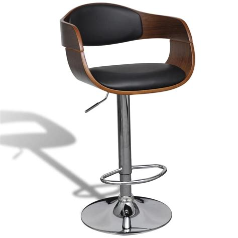 Swivel Stool by Vidaxl Co Uk Adjustable Swivel Bar Stool Leather With