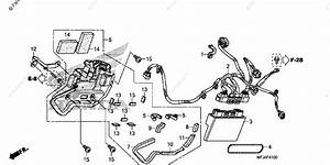 Honda Motorcycle 2010 Oem Parts Diagram For Abs Control