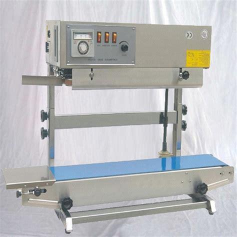 vertical sealing machine plastic bags sealer equipment continuous bank seal food sachet bag