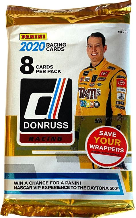 Jan 26, 2021 · trading cards sales on ebay have risen almost 300 percent on ebay in the last five years. NASCAR Panini 2020 Donruss Racing Trading Card BLASTER Pack 8 Cards! - Walmart.com - Walmart.com