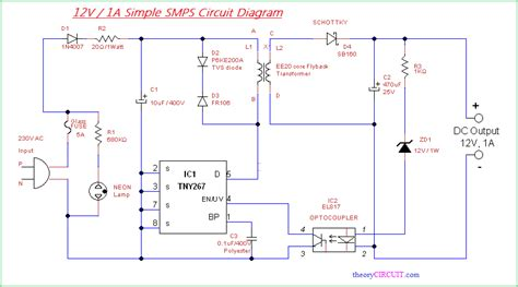 simple smps circuit