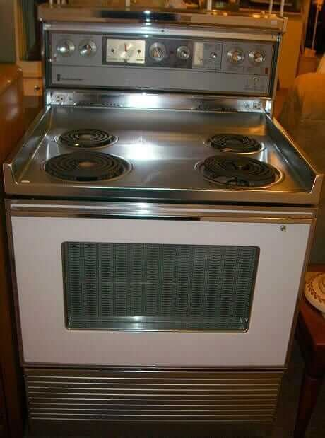 vintage  kenmore electric stove  rons retro renovation