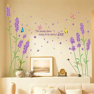 Stickers Papier Peint Mural by Sticker Mural Sakura Fleur Autocollant Romantique