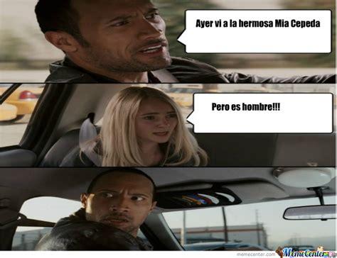 The Rock In Car Meme - mia cepeda by yessi16 meme center