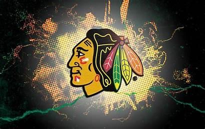 Blackhawks Chicago Wallpapers Background Desktop Ice Hockey