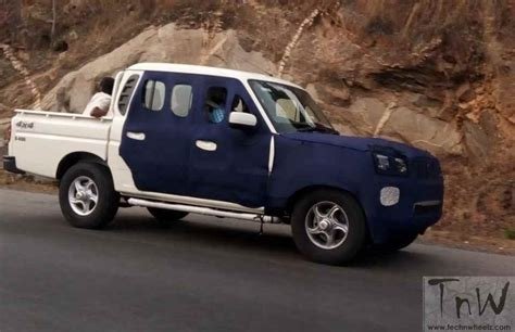 2016 Mahindra Scorpio Getaway Test Mule Spotted While Testing