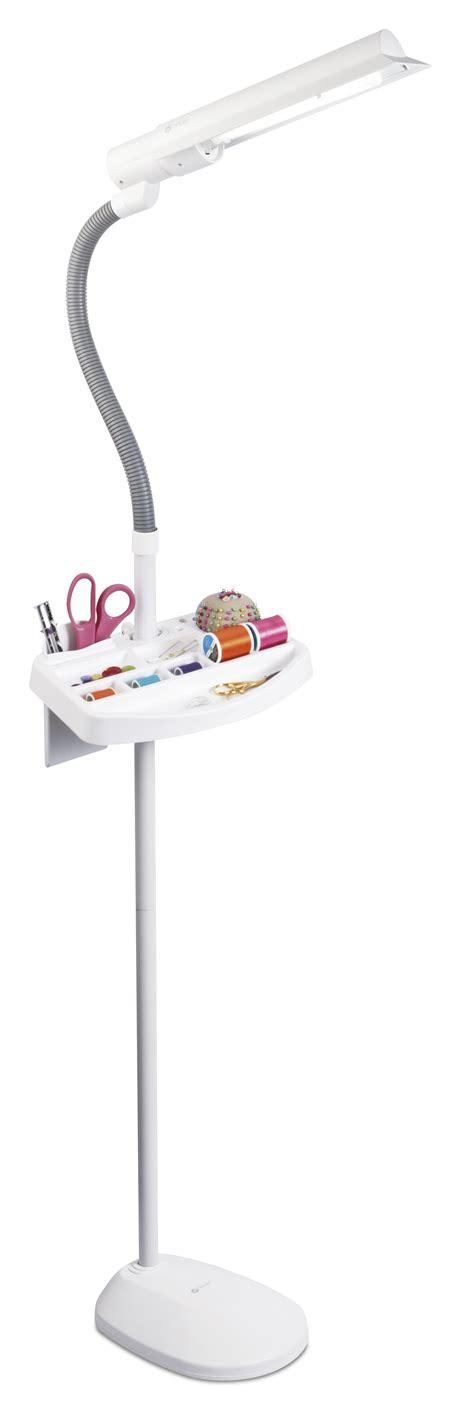 ottlite 18w floor l ottlite 18w sewing floor l with accessory tray jo ann