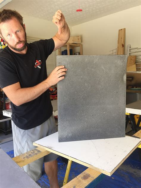 How To NOT do Concrete Countertops   Bower Power