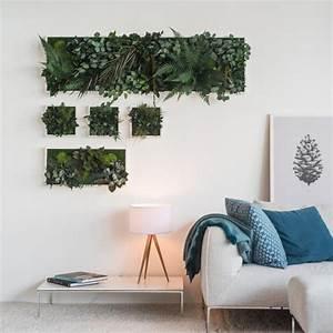 Pflanzen Zum Aufhängen : garten im quadrat stylegreen pflanzenbild aus moos und ~ Michelbontemps.com Haus und Dekorationen