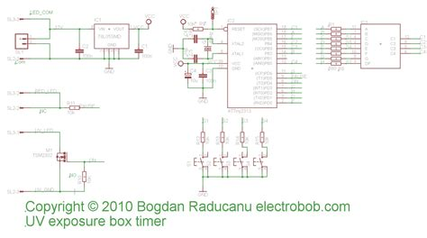 cnd uv l circuit board led uv exposure box part 2 the timer 171 electro bob