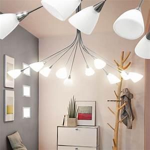 Lampe Für Wohnzimmer : luxus h nge leuchte glas opal matt beleuchtung wohnzimmer lampe eglo yvette 89983 kaufen bei ~ Eleganceandgraceweddings.com Haus und Dekorationen