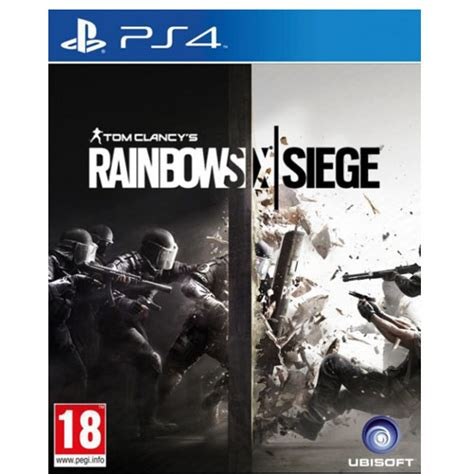 siege ps tom clancy 39 s rainbow six siege playstation 4 ps4