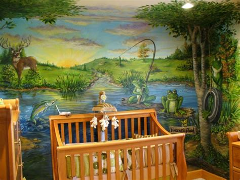 lukisan dinding  berbagai tema  dekorasi rumah