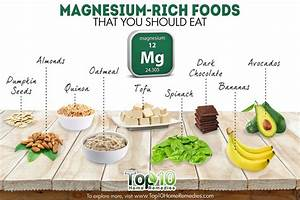 10 Magnesium-Rich Foods that You Should Eat | Top 10 Home ...