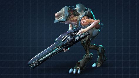 Renders Of All The Characters In Halo 4.