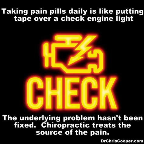 does o reilly check engine light for free chiropractic care vs pain medication cascade