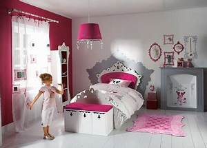 Deco Pour Chambre Fille : design chambre fille ~ Melissatoandfro.com Idées de Décoration