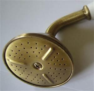 Duschkopf Für Durchlauferhitzer : antik handbrause duschkopf messing bronze ac0428065 ebay ~ Heinz-duthel.com Haus und Dekorationen
