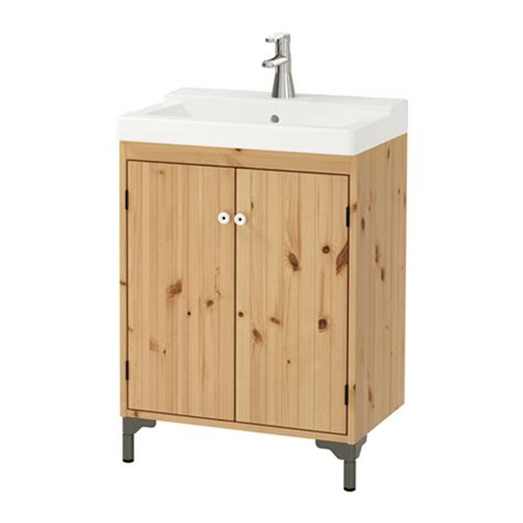 ikea bathroom sink cabinet reviews silverån tälleviken sink cabinet with 2 doors light