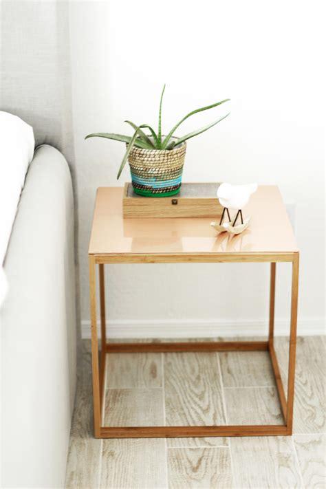 copper table l ikea ikea hack nightstand four ways kristi murphy do it