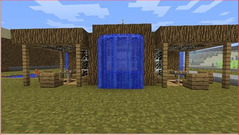 Tiki Hut Minecraft - tiki bar minecraft project