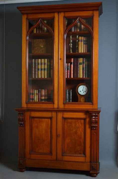 Victorian Mahogany Bookcase  Gothic Revival  Antiques Atlas