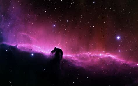 wallpaper violet  dark clouds  deep space