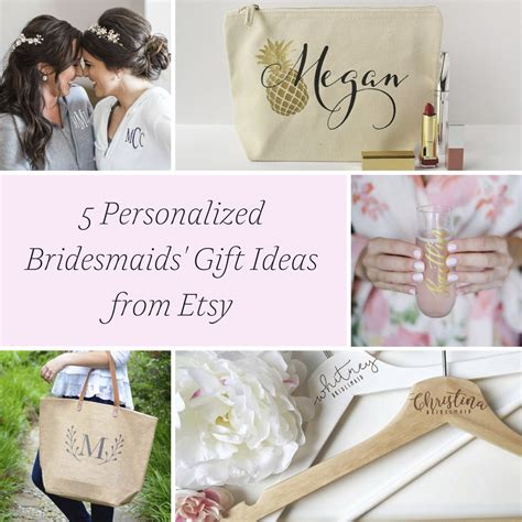 personalized bridesmaids gift ideas hill city bride