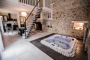 gite avec jacuzzi privatif dans la chambre bain de With location chambre avec jacuzzi privatif bretagne
