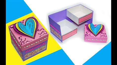gift box gift box making ideas diy paper
