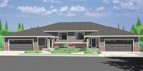 Split Level Ranch House Plans Craftsman Split-level