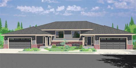 stunning split level duplex ideas house plans