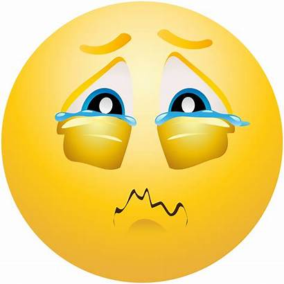 Emoji Crying Emoticon Clipart Transparent Background Clip