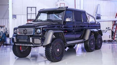 Special thanks to sehgal motors murree road saddar rawalpindi contact: This Mercedes-Benz Brabus G63 6x6 could be yours in the U.S. for $1.35M
