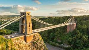 Admire The View From The Clifton Suspension Bridge In This