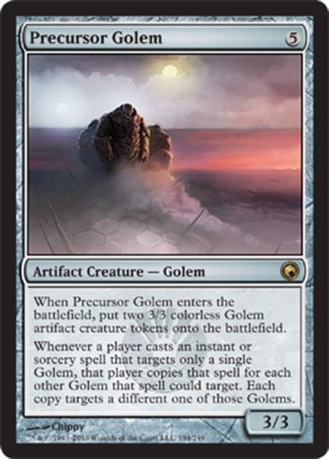 mtg golem token deck tezzeret of bolas sbn scars besieged new