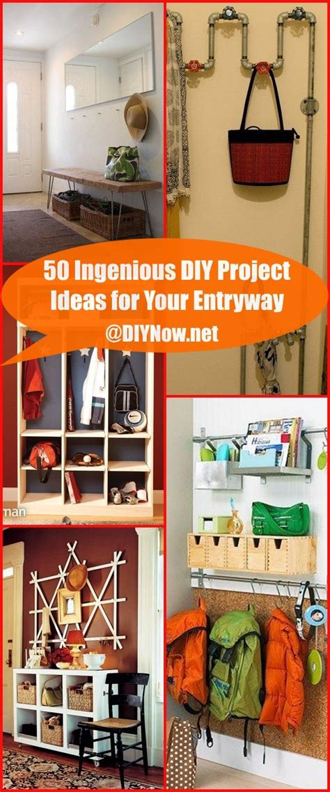 ingenious project 50 ingenious diy project ideas for your entryway page 52 diynow net