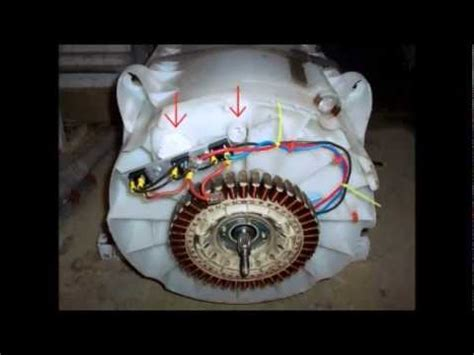 power   recycled washing machine generating